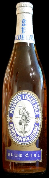 image of Blue Girl Pilsener Lager Bier